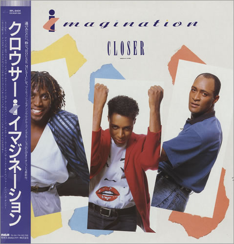 David funk music: Imagination-Closer 1987