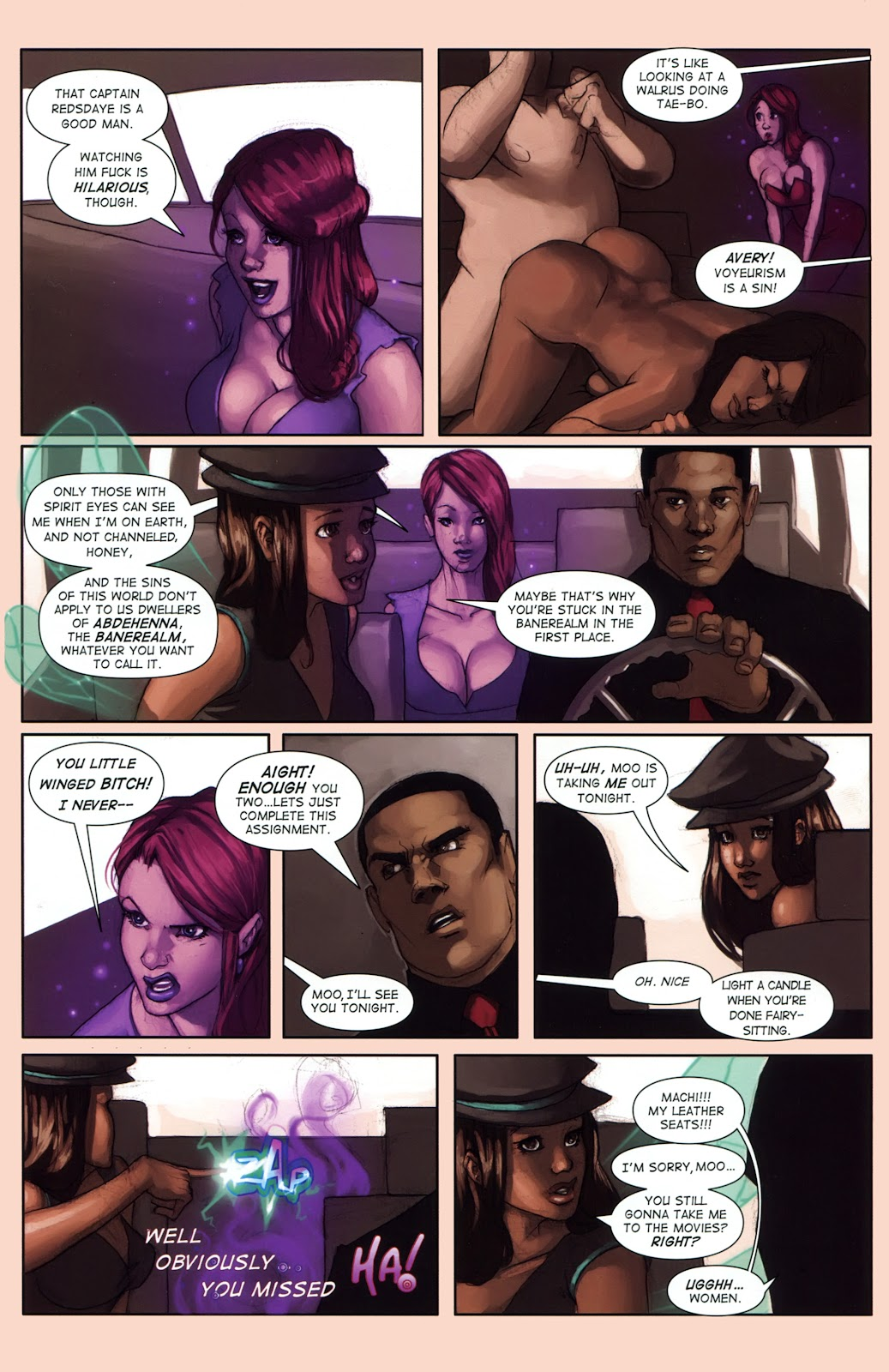 Read online Vescell comic -  Issue #1 - 23