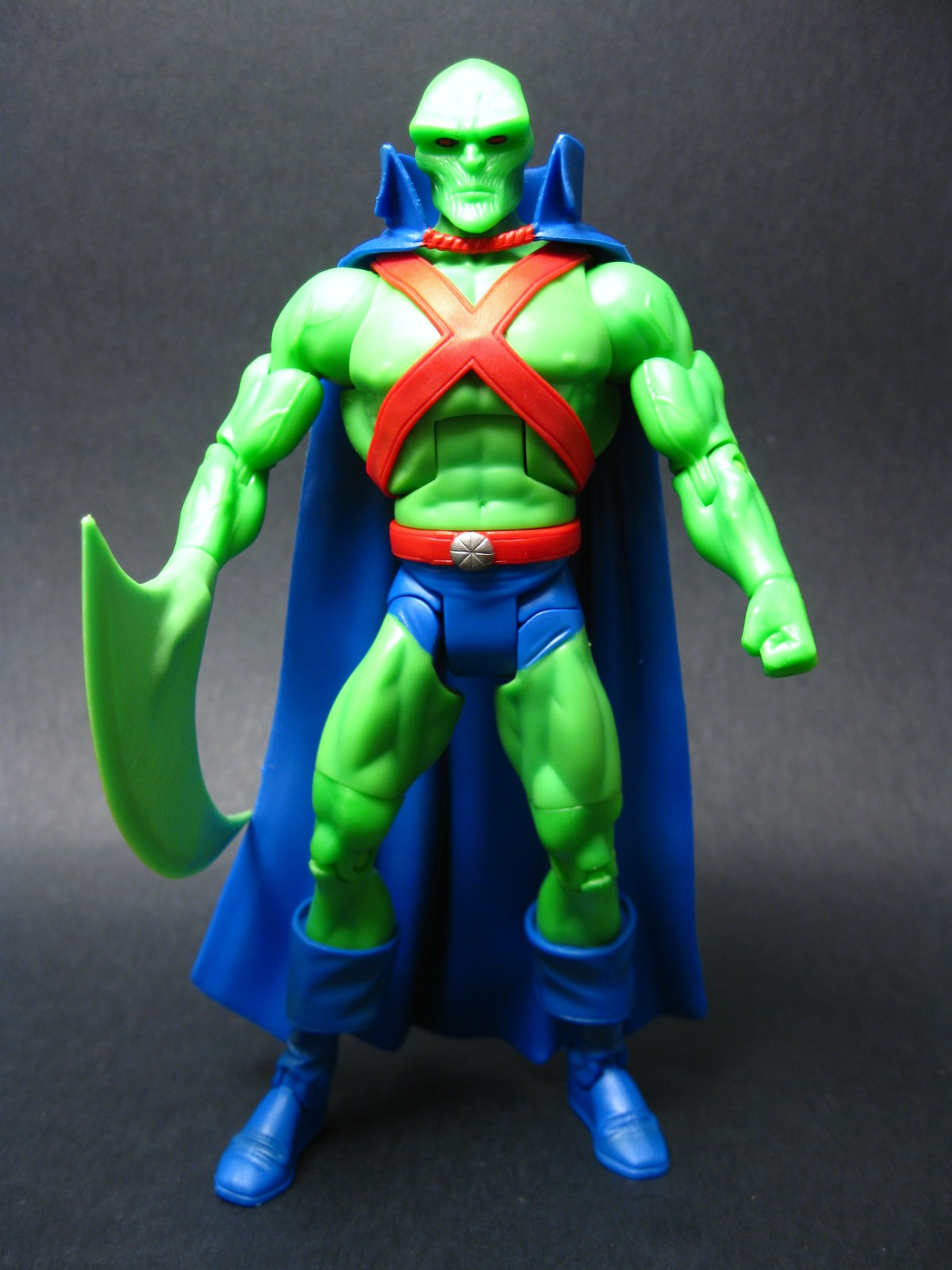 martian manhunter human form