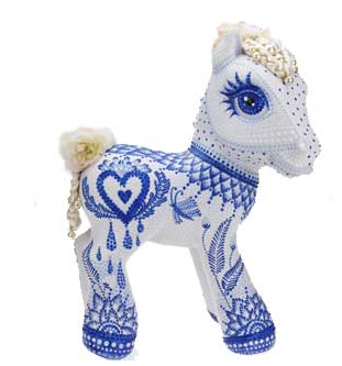 One of the ponies created to