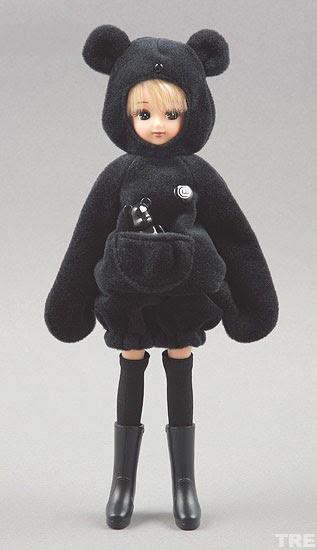 Takara Tomy Rika Chan Licca Cinnamon Roll Cute LD-13 Free Shipping from Japan!!!