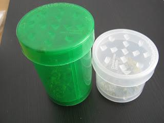 Grinder Weed Jar