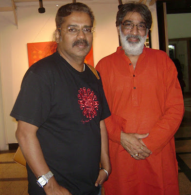 Bollywood Singer Hariharan with Artist & Actor Prithvi Soni