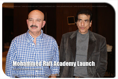 Rakesh Roshan at Md. Rafi Academy launch