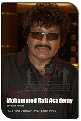 Shravan Rathod at Mohd. Rafi Academy launch