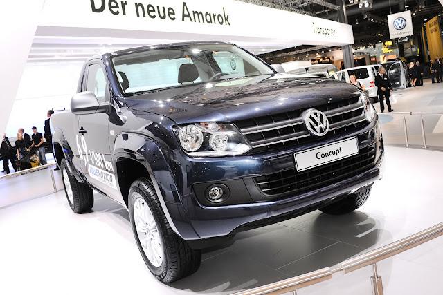 VW Amarok Single Cab 3