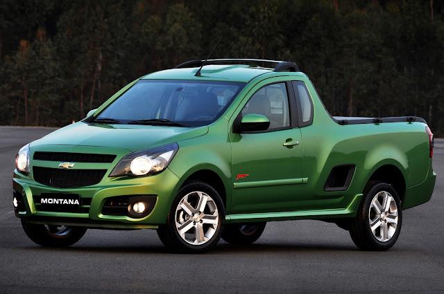 Brasil: Presentación de la Nueva Chevrolet Montana 1