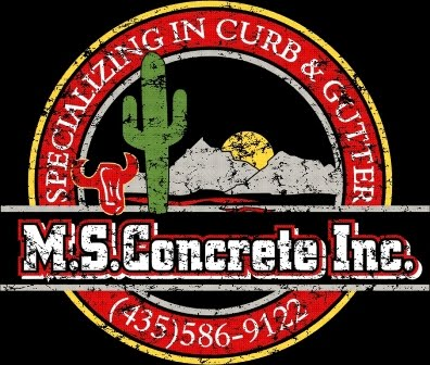 M S Concrete And Metal Works Logo S