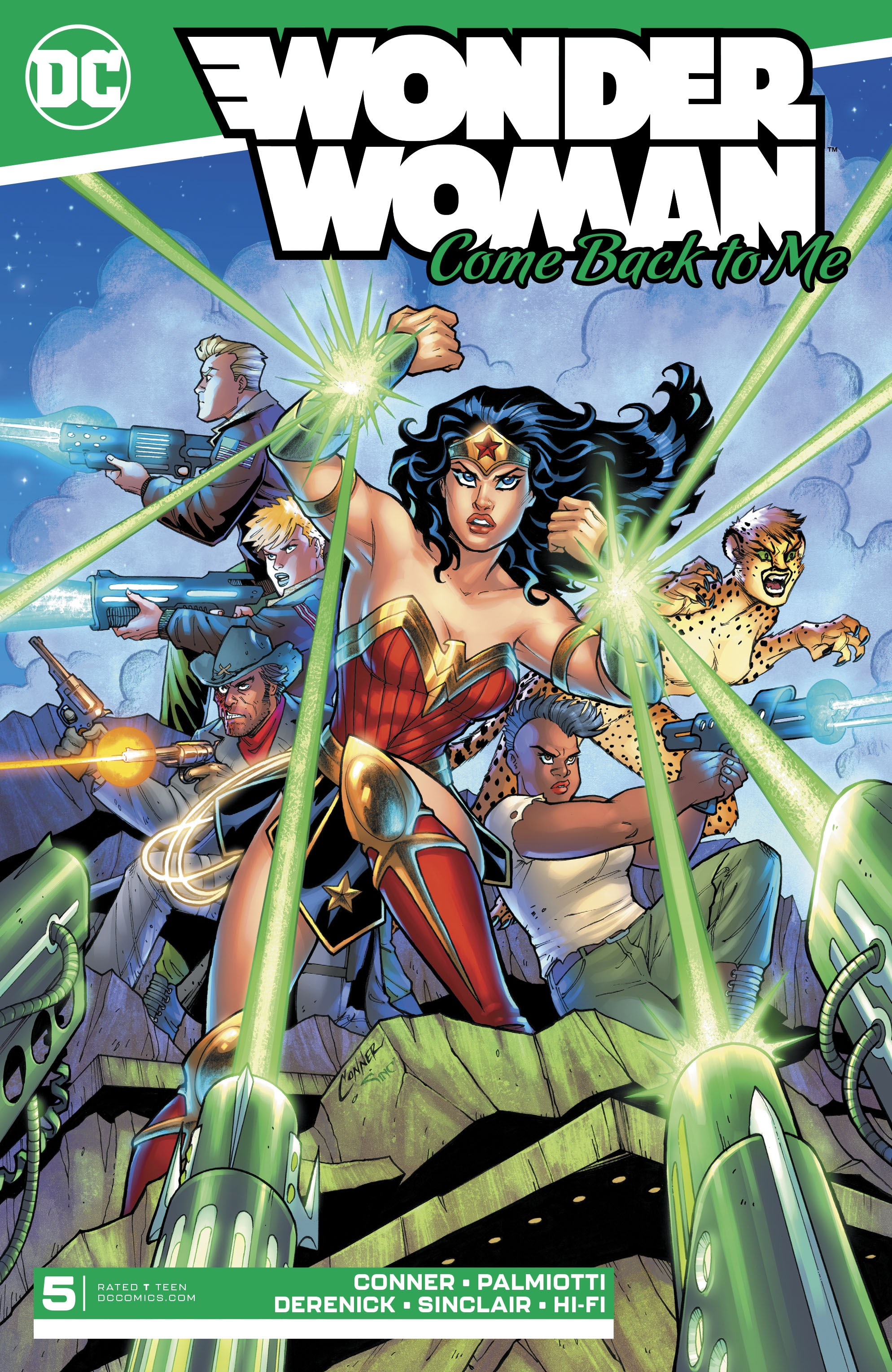 Wonder Woman: Come Back To Me 5 Page 1