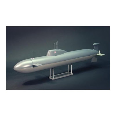 Akula remote-controlled toy submarine