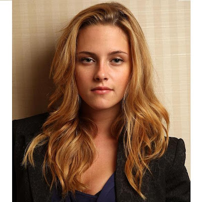 Kristen stewart as a blonde really