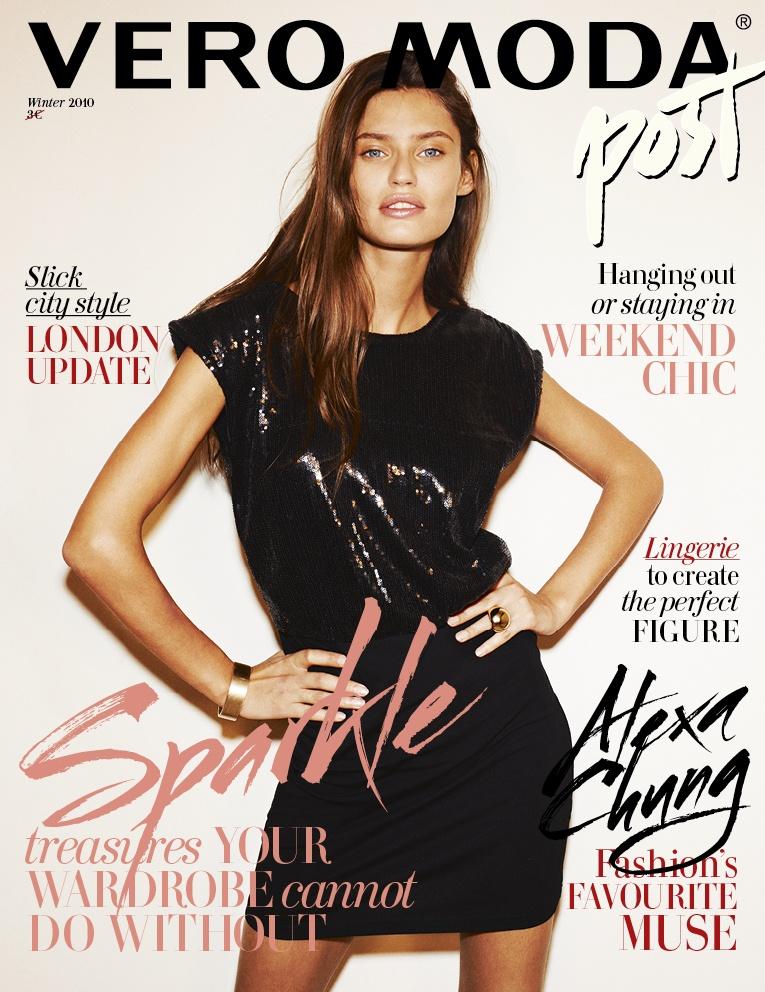 Bianca Balti For Vero Moda Magazine Winter 2010