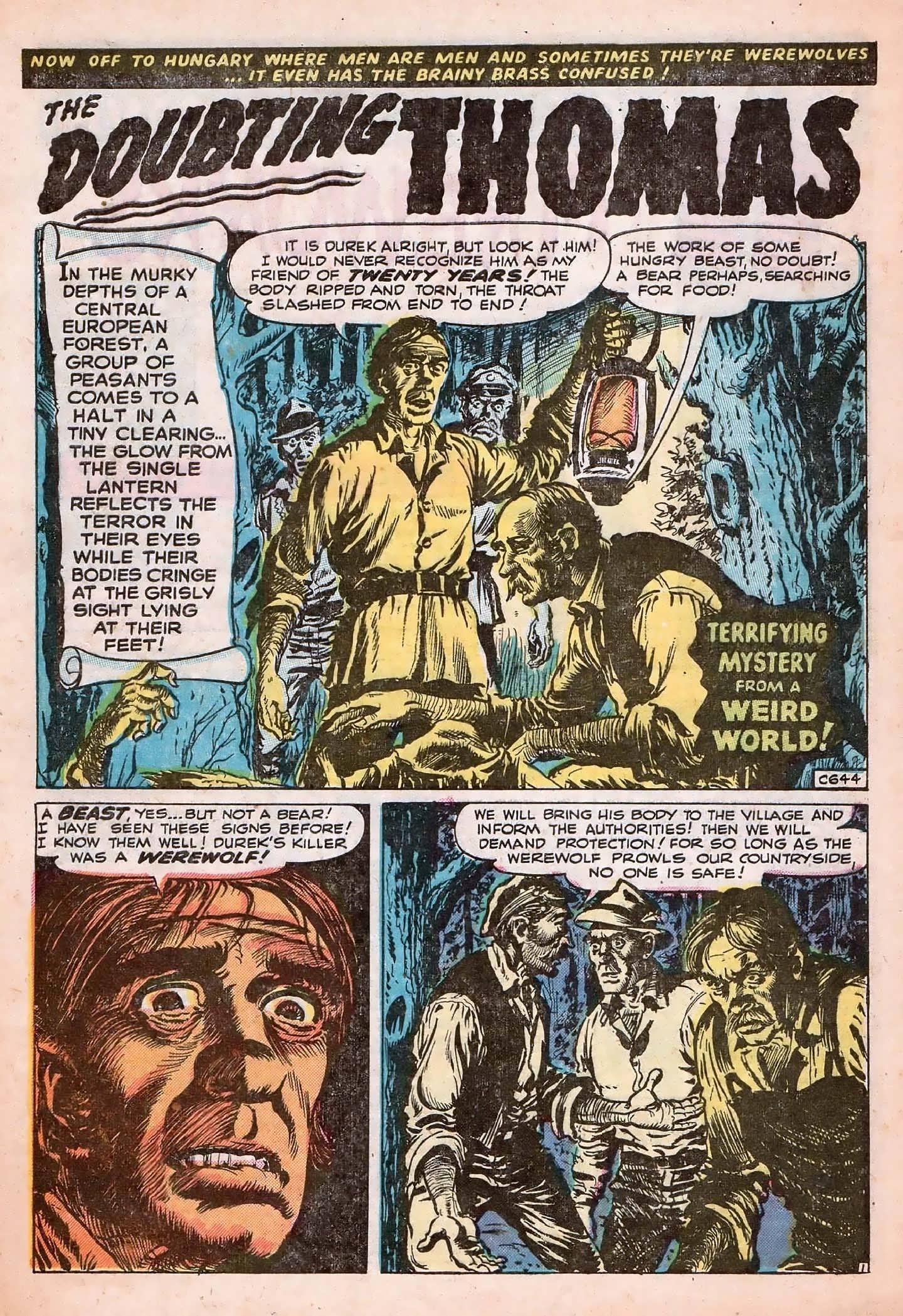 Read online Adventures into Weird Worlds comic -  Issue #20 - 28