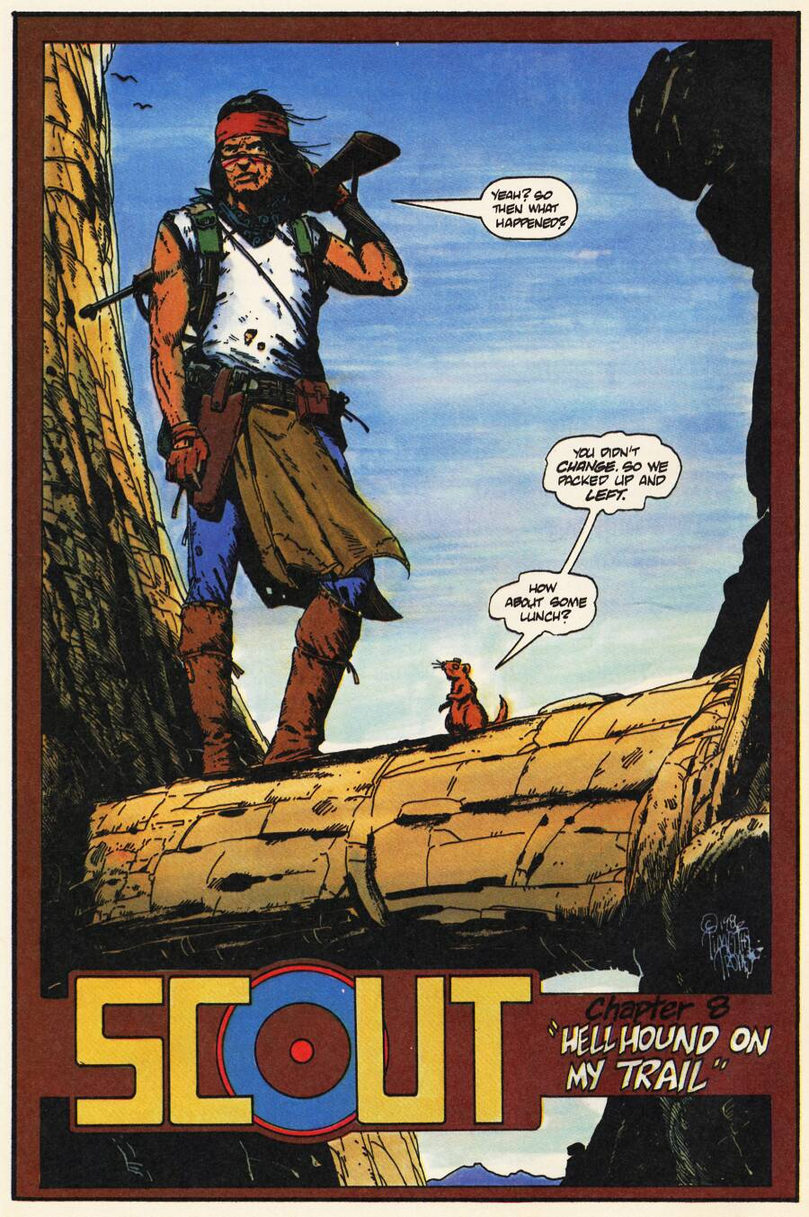 Read online Scout comic -  Issue #8 - 4
