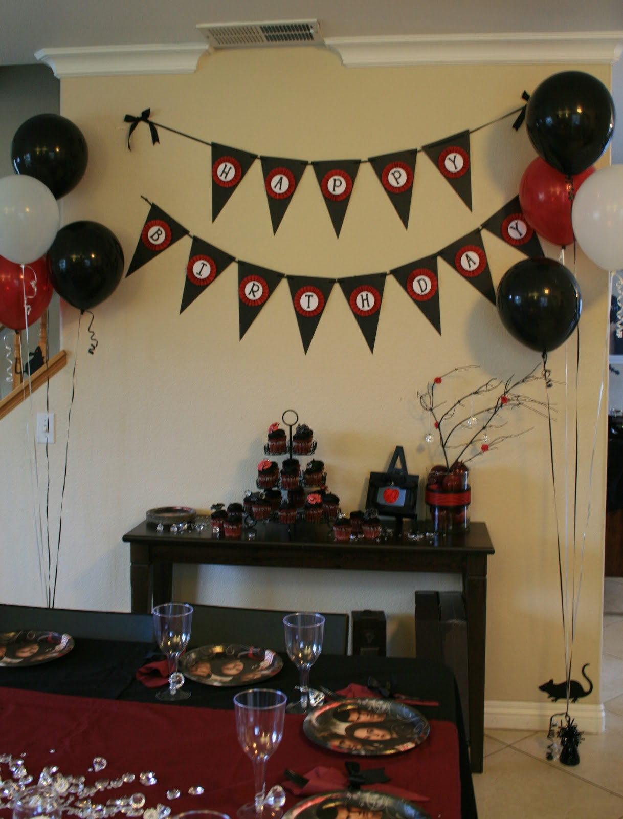 My Creative Ink Twilight Party Decorations
