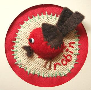 Christmas Robin Crafts