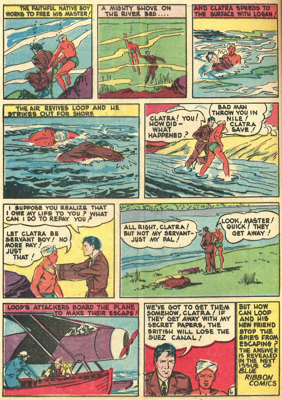 Blue Ribbon Comics (1939) issue 9 - Page 60