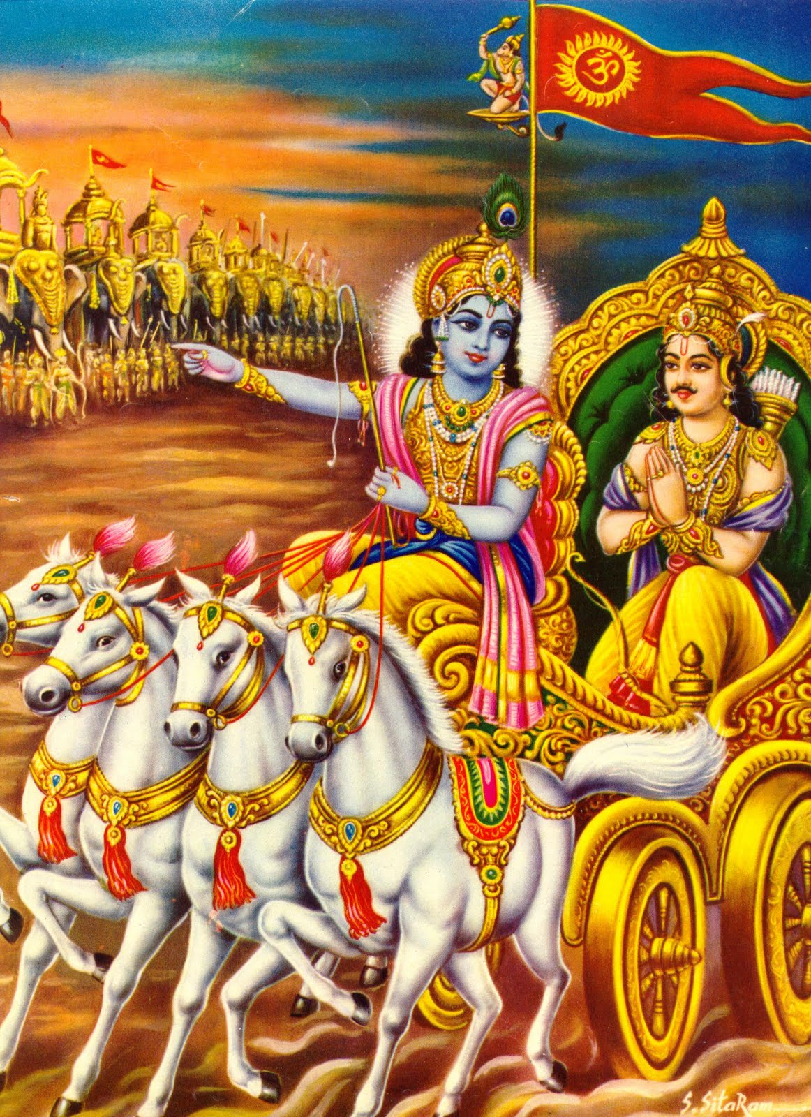 photo of krishna and arjuna relationship