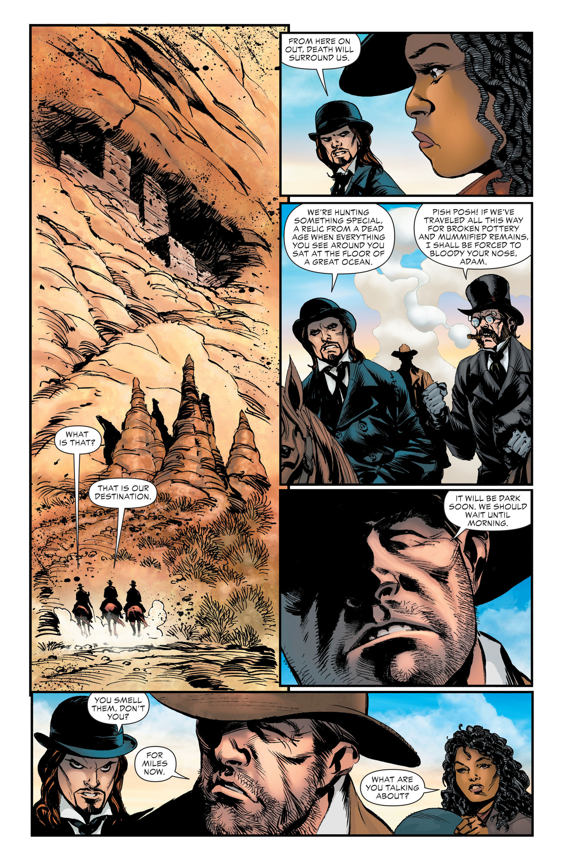 Read online All-Star Western (2011) comic -  Issue #20 - 23