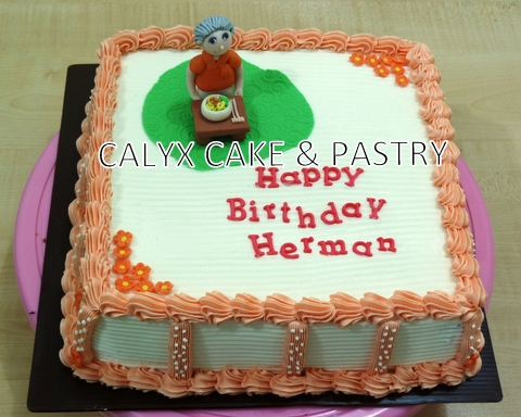 Calyx Cake Amp Pastry Luster Mocca For Herman