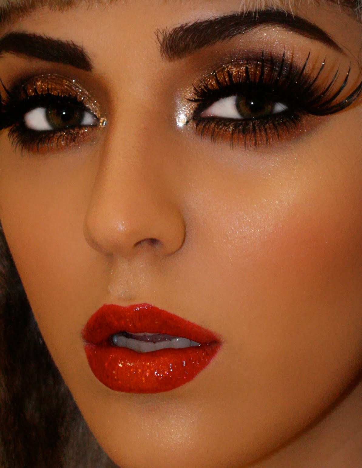 Glamour Makeup: Thestylemongers: Make Up For Ever Holiday Glamour Seminar