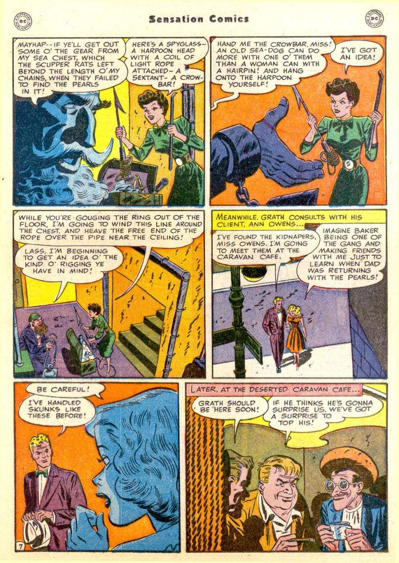 Read online Sensation (Mystery) Comics comic -  Issue #85 - 22