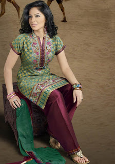 Salwar kameez different neck patterns