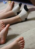 Happy little feet