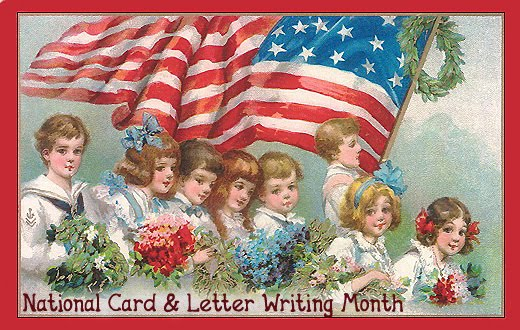 national letter writing month of the letter 23752