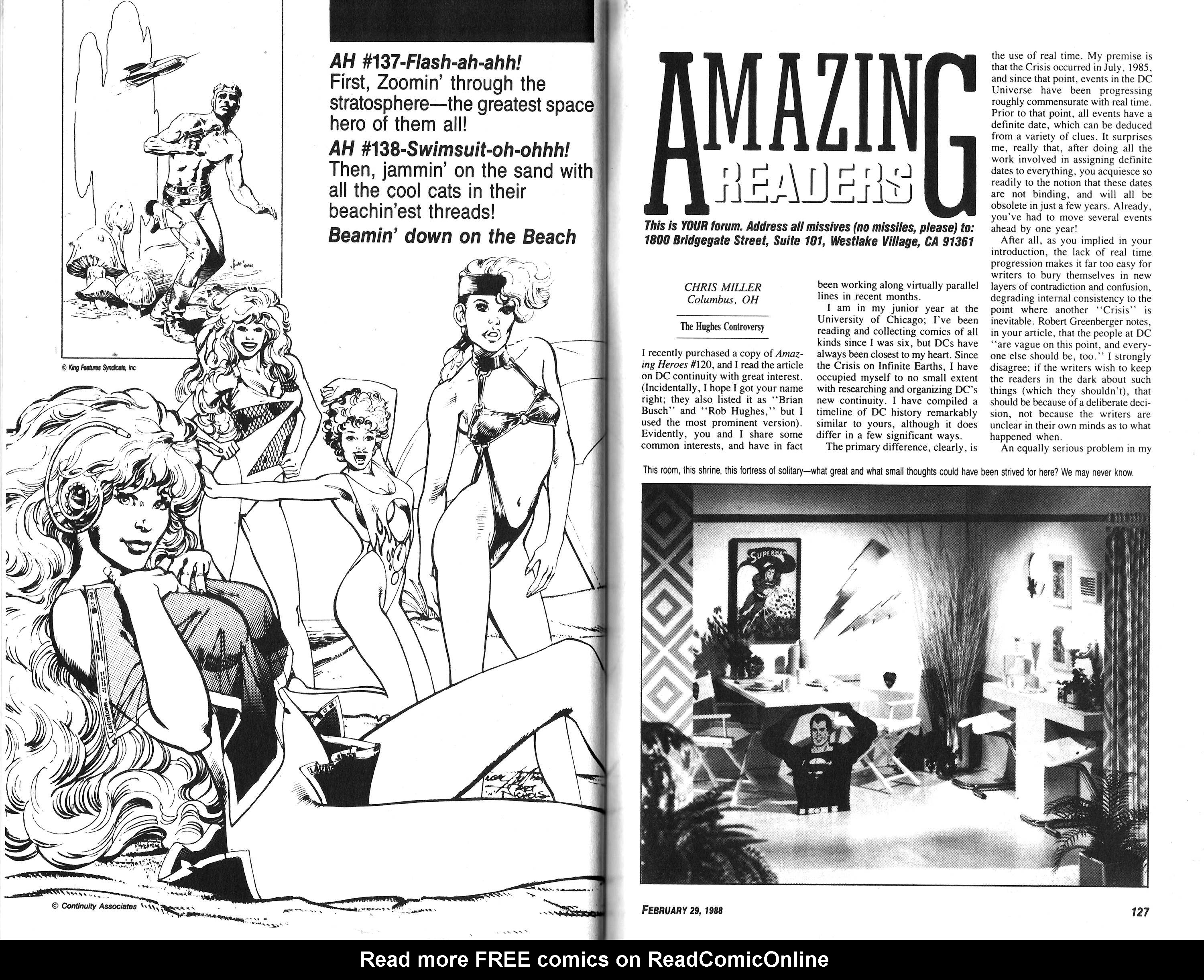 Read online Amazing Heroes comic -  Issue #136 - 64