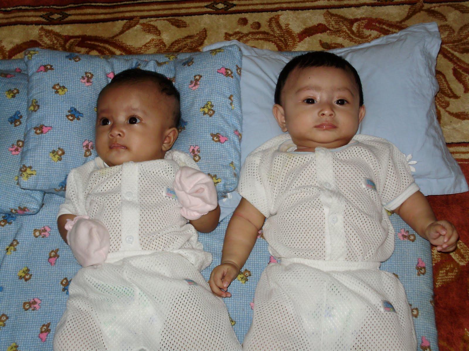 SuperNuNu Punya Anak Kembar Tak Seiras
