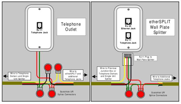dsl splitter wiring diagram somurich com
