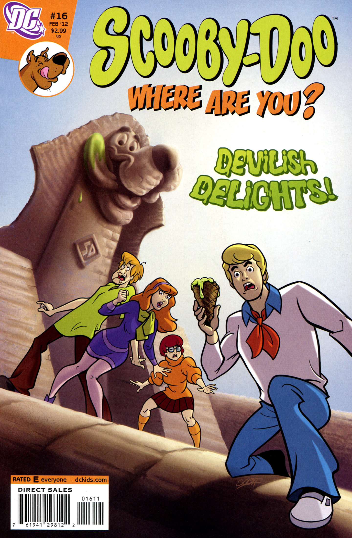 Read online Scooby-Doo: Where Are You? comic -  Issue #16 - 1