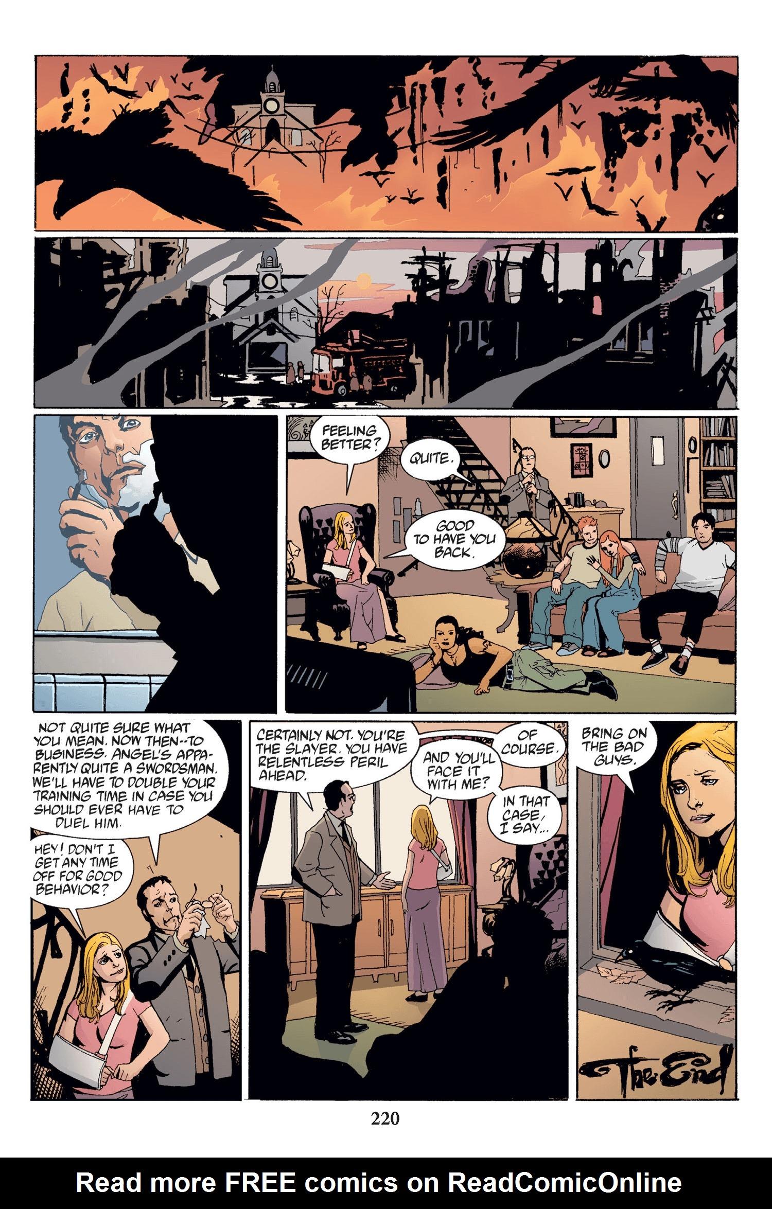 Read online Buffy the Vampire Slayer: Omnibus comic -  Issue # TPB 2 - 214