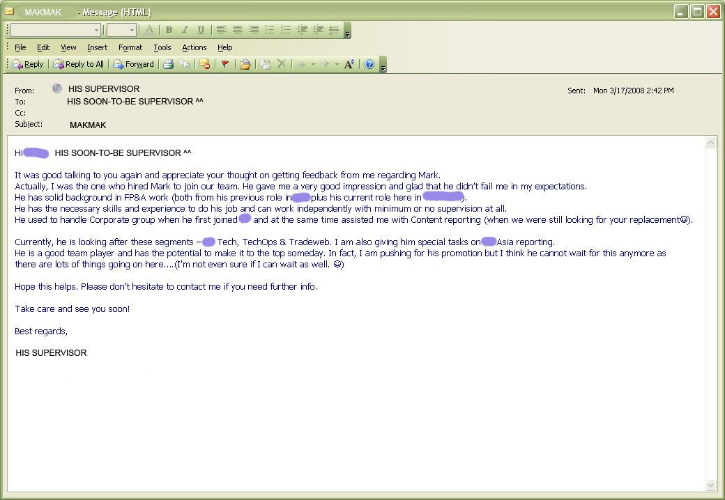Formelle E Mail