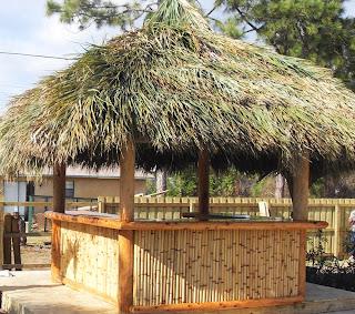 Tiki Hut Bar Built In Port St Lucie Fl