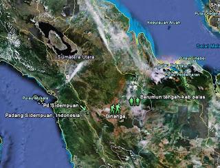 binanga Mengunjungi Situs situs Peninggalan Sejarah di Tapsel