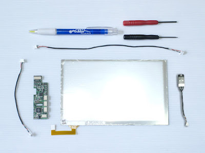 Jkkmobile Easy To Add Touch Screen Kit For Asus Eee Pc 701