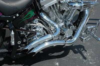 Aftermarket Motorcycle Exhaust Pipes - Acpfoto