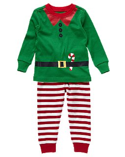 ad4ce57d66 Style By Mommy  Elf Pajamas at Crazy 8 - Only  7.99