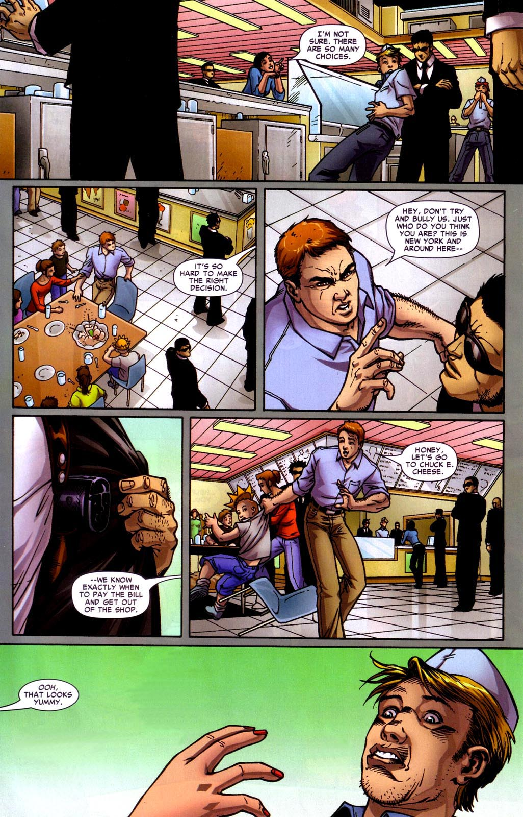 Read online Araña: Heart of the Spider comic -  Issue #7 - 13
