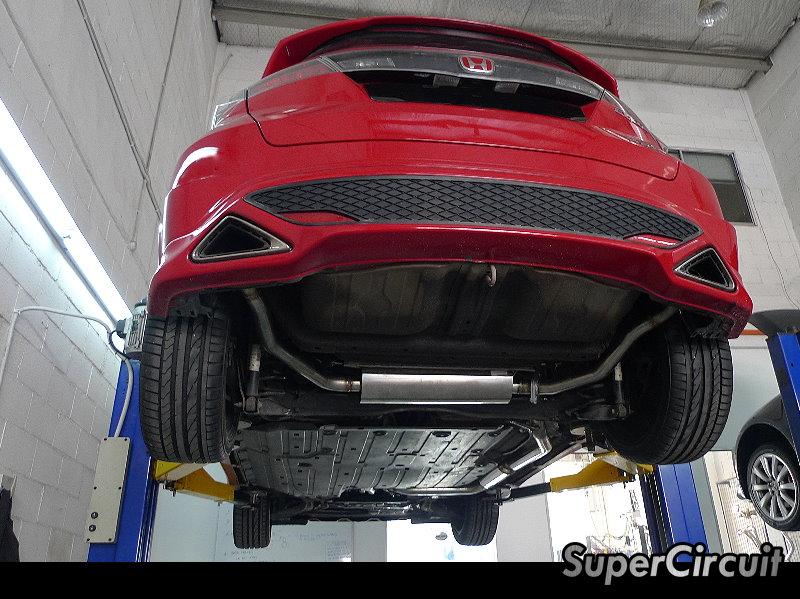 SUPERCIRCUIT Exhaust Pro Shop: Honda Civic FN2 Type-R Full ...