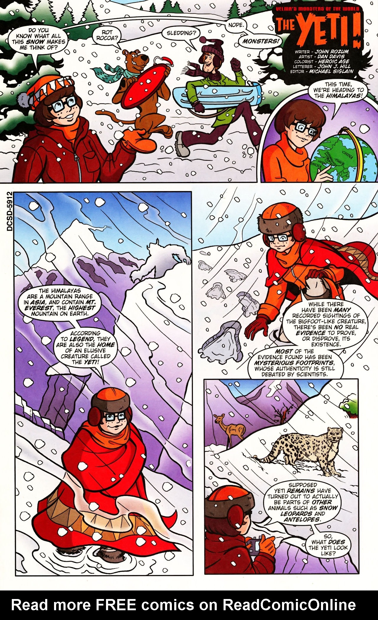 Read online Scooby-Doo (1997) comic -  Issue #139 - 12