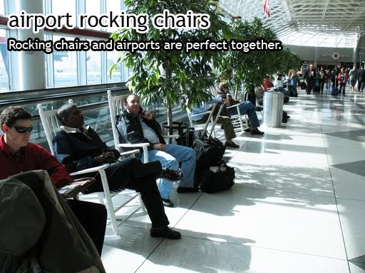 Airport Rocking Chairs Charlotte Airport Rockers