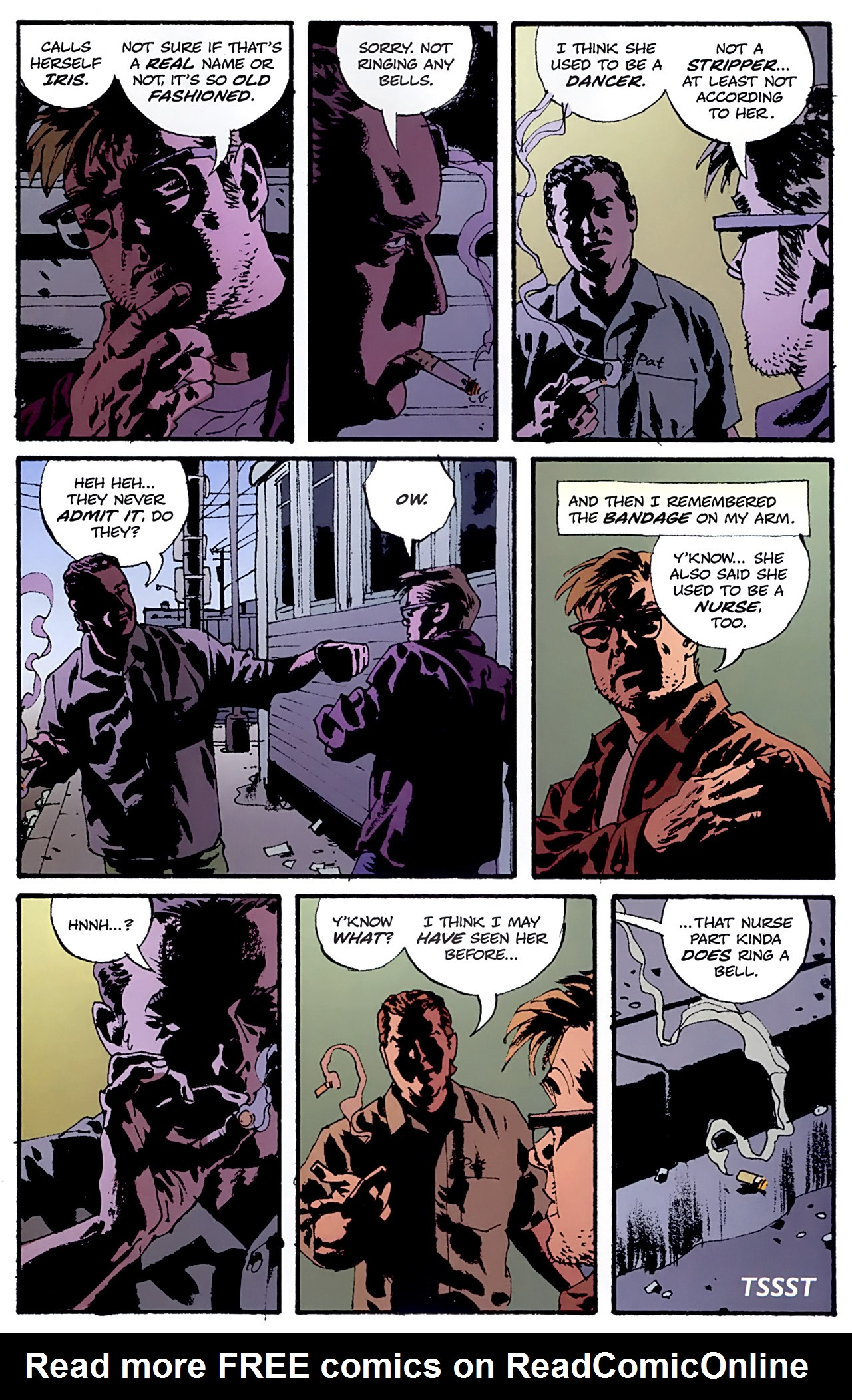 Read online Criminal (2008) comic -  Issue #6 - 21