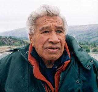 Hone Tuwhare (1922-2008) photograph by Meg Davidson