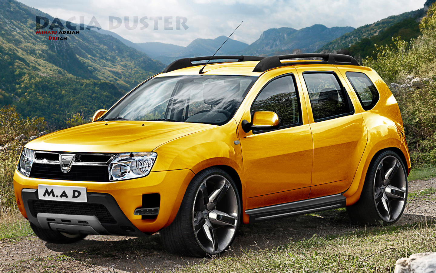 virtual tuning dacia duster. Black Bedroom Furniture Sets. Home Design Ideas