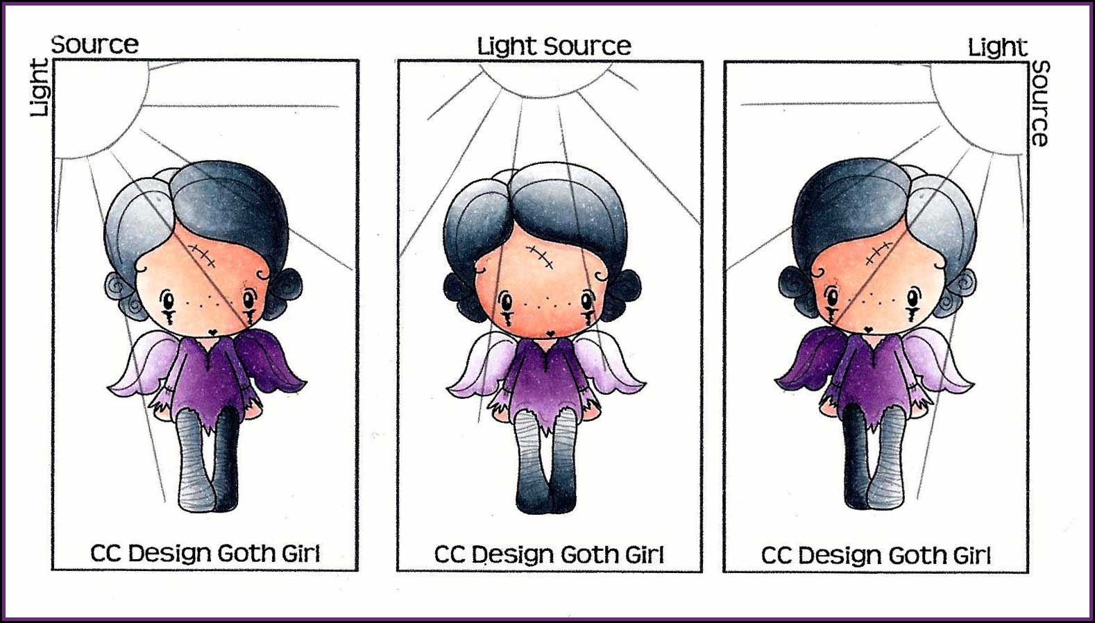 Copic Oz Understanding Light Source