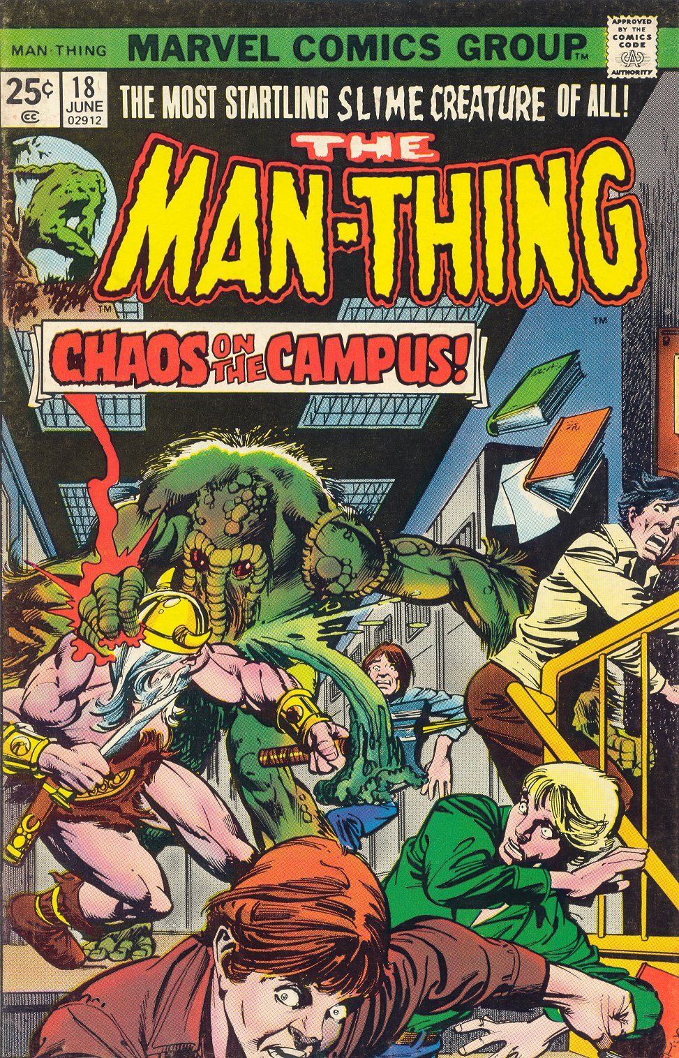 Man-Thing (1974) issue 18 - Page 1