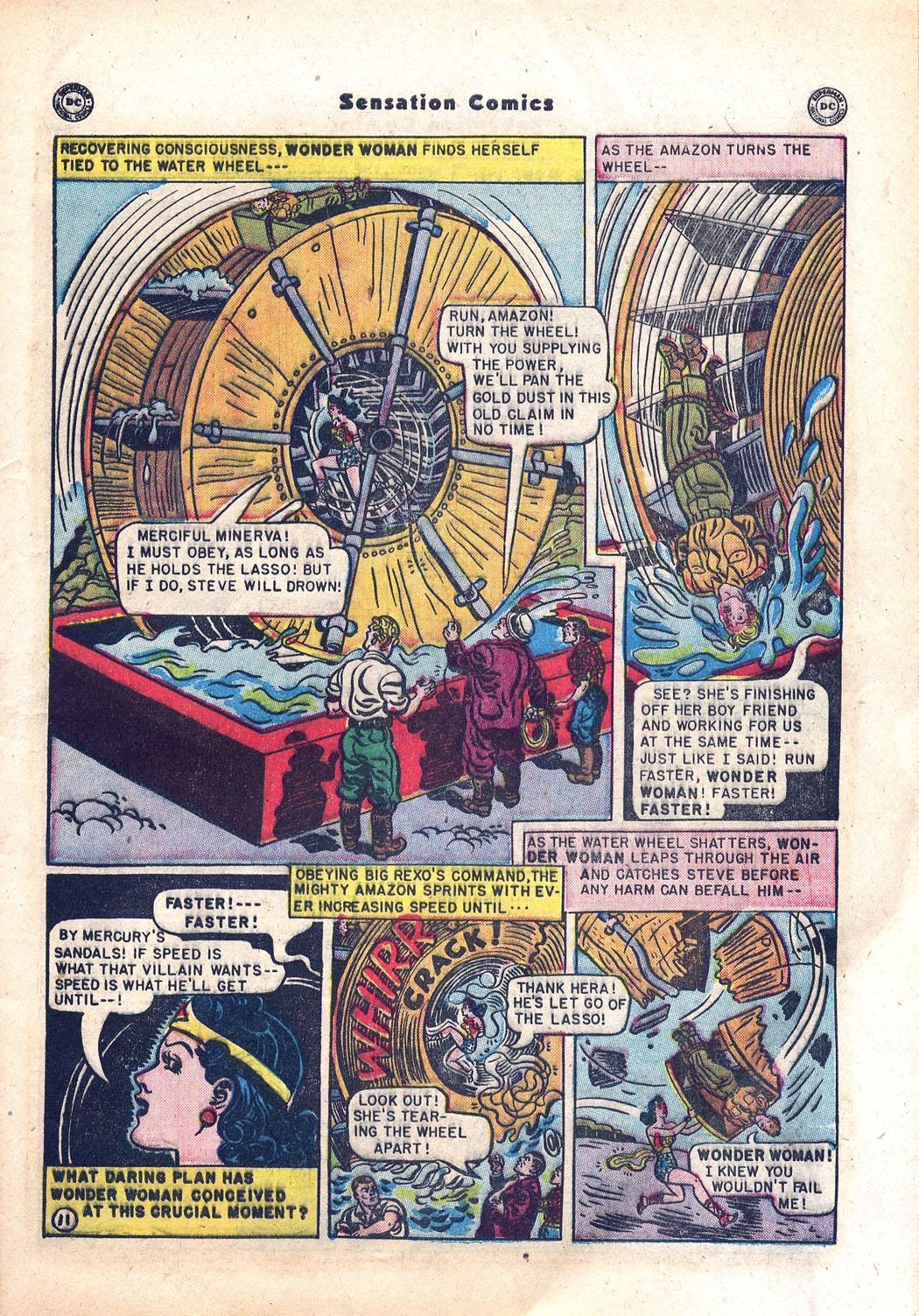 Read online Sensation (Mystery) Comics comic -  Issue #94 - 13